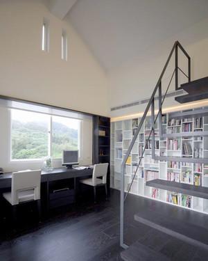 96平米现代简约风格小复式楼装修效果图赏析