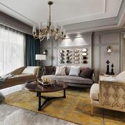 欧式风格温馨精致客厅设计装修效果图赏析