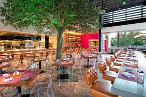 106平米现代风格创意餐厅设计装修效果图赏析