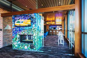 现代风格创意小型酒吧装修效果图