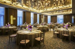 中式风格五星级酒店餐厅装修效果图赏析