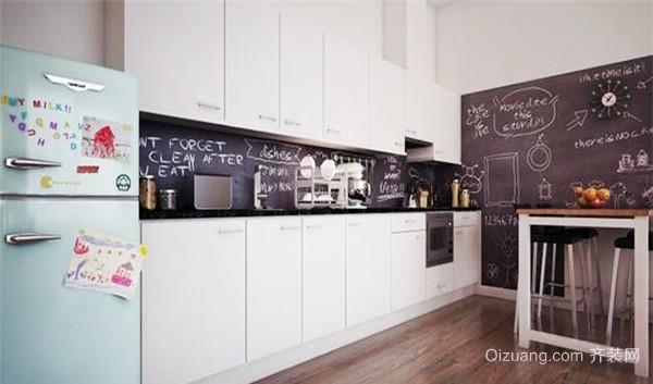 54平米简约风格温馨单身公寓装修效果图赏析