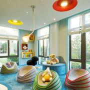 清新风格时尚活泼儿童房设计装修效果图赏析
