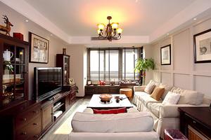 混搭风格深色系两室两厅室内装修效果图案例
