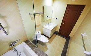 84平米日式风格简约三室两厅室内装修效果图赏析