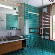 8平米现代风格精致卫生瓷砖装修效果图赏析