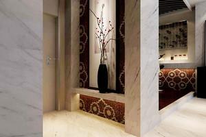 141平米现代风格精致大户型装修效果图案例