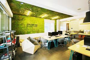 50平米现代简约风格办公室装修效果图赏析
