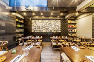 120平米中式风格雅致中餐厅装修效果图赏析