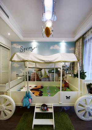 简欧风格创意儿童房设计装修效果图赏析