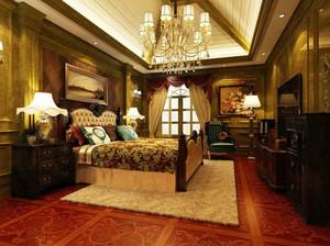 古典欧式风格别墅卧室装修效果图赏析