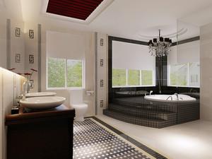 147平米古典中式风格大户型装修效果图赏析