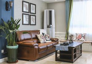 121平米混搭风格精致三室两厅装修效果图赏析