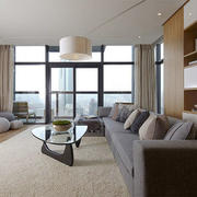 现代风格简约温馨客厅设计装修效果图赏析