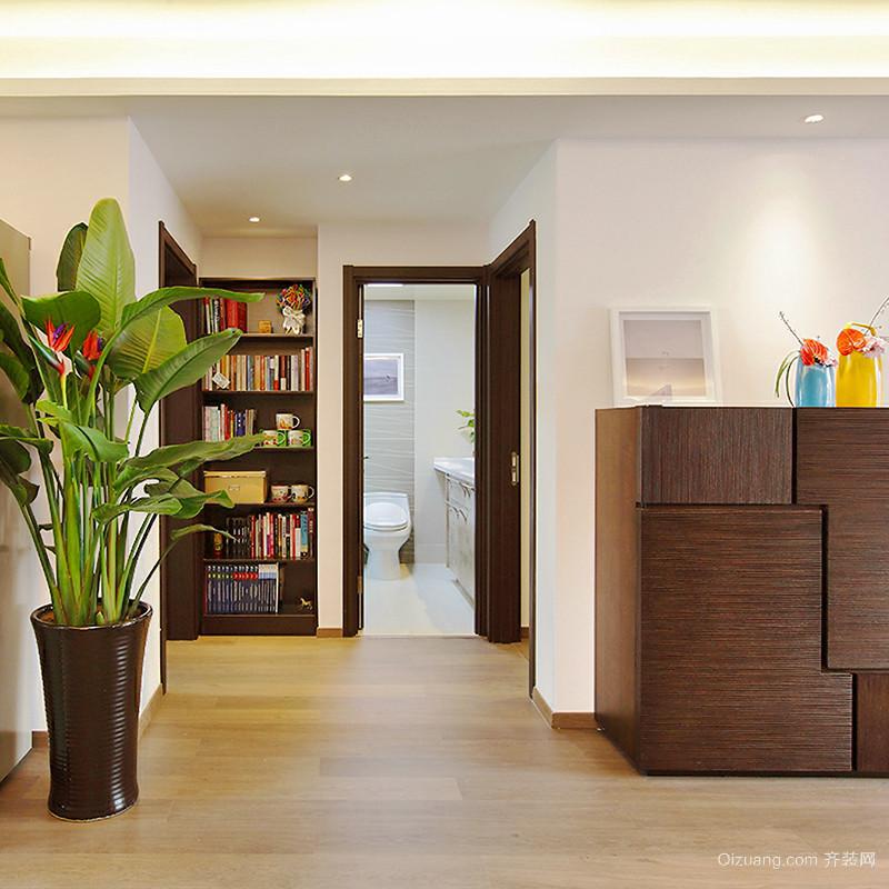 80平米简约中式风格简装室内装修效果图赏析