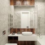 简约风格两居室卫生间装修效果图赏析