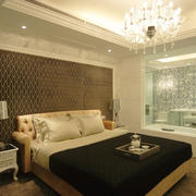 简欧风格精致卧室背景墙装修效果图赏析