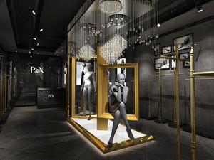 54平米现代风格精品服装店装修效果图赏析
