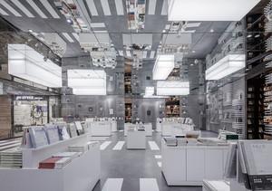 现代简约风格大型精品书店设计装修效果图赏析