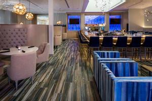 100平米简欧风格精致西餐厅设计装修效果图