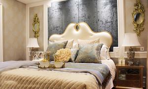 浪漫浅色法式风格别墅室内装修效果图案例