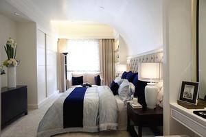 137平米简欧风格精致三室两厅室内装修效果图赏析