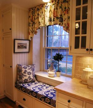欧式田园风格精致飘窗设计装修效果图赏析
