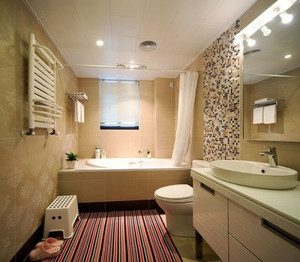 现代简约风格卫生间装修效果图欣赏