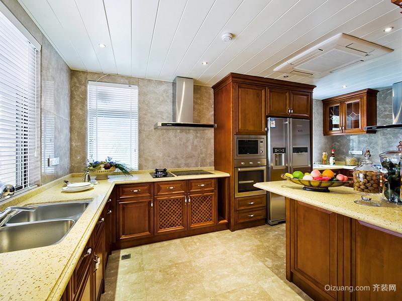 219平米欧式风格精致别墅室内装修效果图案例