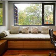 现代风格书房飘窗设计装修效果图赏析