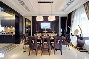 新古典主义风格大户型精致餐厅装修效果图赏析