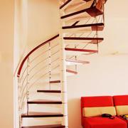 现代风格创意旋转楼梯设计装修效果图赏析