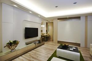 106平米宜家风格简约三室两厅室内装修效果图欣赏