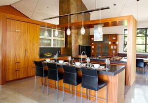 现代风格大户型精致吧台设计装修效果图赏析