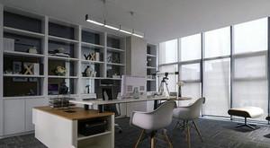 现代简约风格老总办公室装修效果图赏析