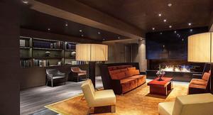 98平米现代风格五星级酒店客房设计装修效果图