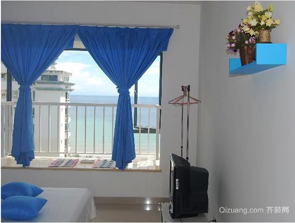 地中海风格简约飘窗设计装修效果图赏析