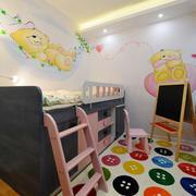 现代简约风格温馨儿童房设计装修效果图赏析