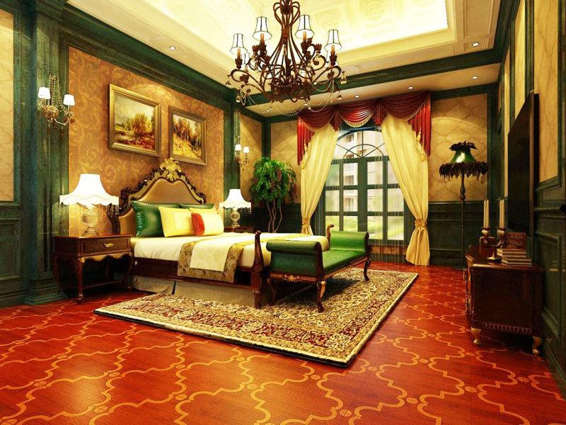 法式风格精致古典卧室装修效果图赏析