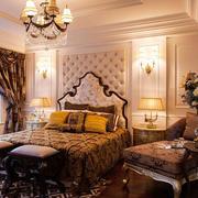 古典欧式风格大户型精致卧室装修效果图赏析