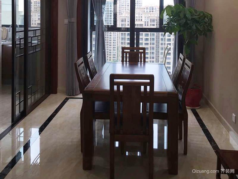 90平米简约中式风格室内装修效果图赏析