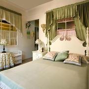 欧式田园风格清新卧室装修效果图赏析