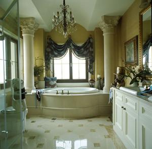 欧式风格大户型精致豪华卫生间设计装修效果图