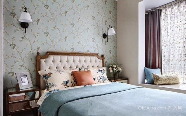 94平米田园风格温馨三室两厅室内装修效果图赏析
