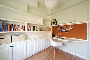 10平米现代风格精致书房设计装修效果图