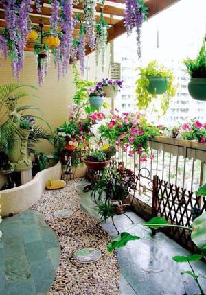 现代风格精美阳台花园设计装修效果图赏析