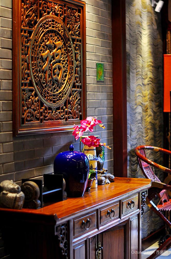 300平米古典中式风格别墅室内装修效果图赏析