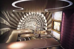 现代风格时尚创意KTV包房设计装修效果图赏析
