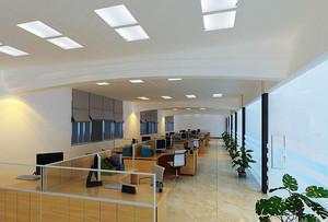 100平米现代风格简约办公室装修效果图赏析