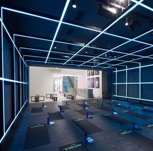 80平米现代简约风格瑜伽馆设计装修效果图
